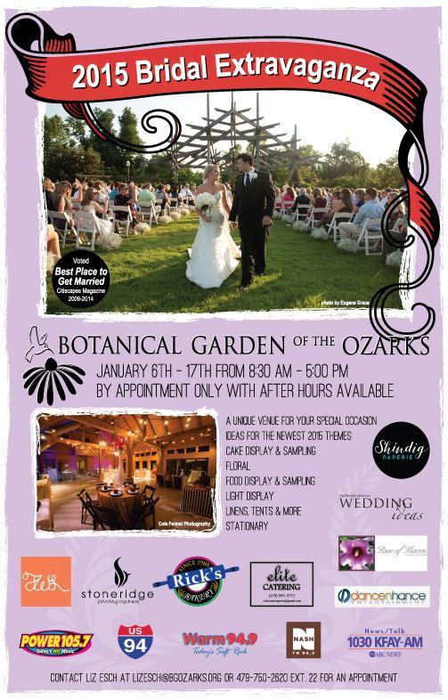 Bridal Extravaganza @ Botanical Garden of the Ozarks