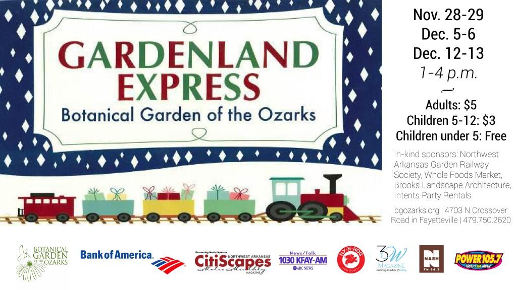 Gardenland Express @ Botanical Garden of the Ozarks