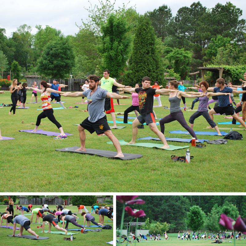 Yoga in the Garden @ Botanical Garden of the Ozarks