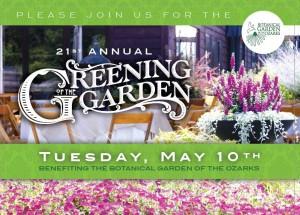 Greening of the Garden @ Botanical Garden of the Ozarks