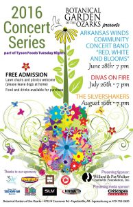 Free Summer Concert {Divas on Fire} @ Botanical Garden of the Ozarks
