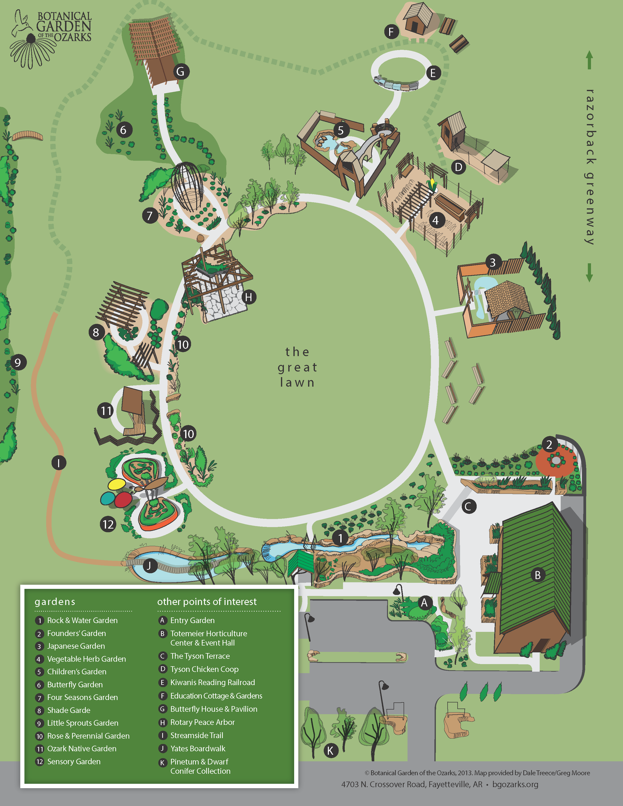 plan your visit botanical garden of the ozarks