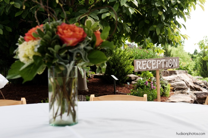 Reception sign - hudsonphoto