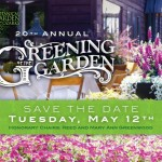 Greening of the Garden 2015 tickets available for purchase