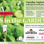 Purchase Chefs in the Garden tickets!