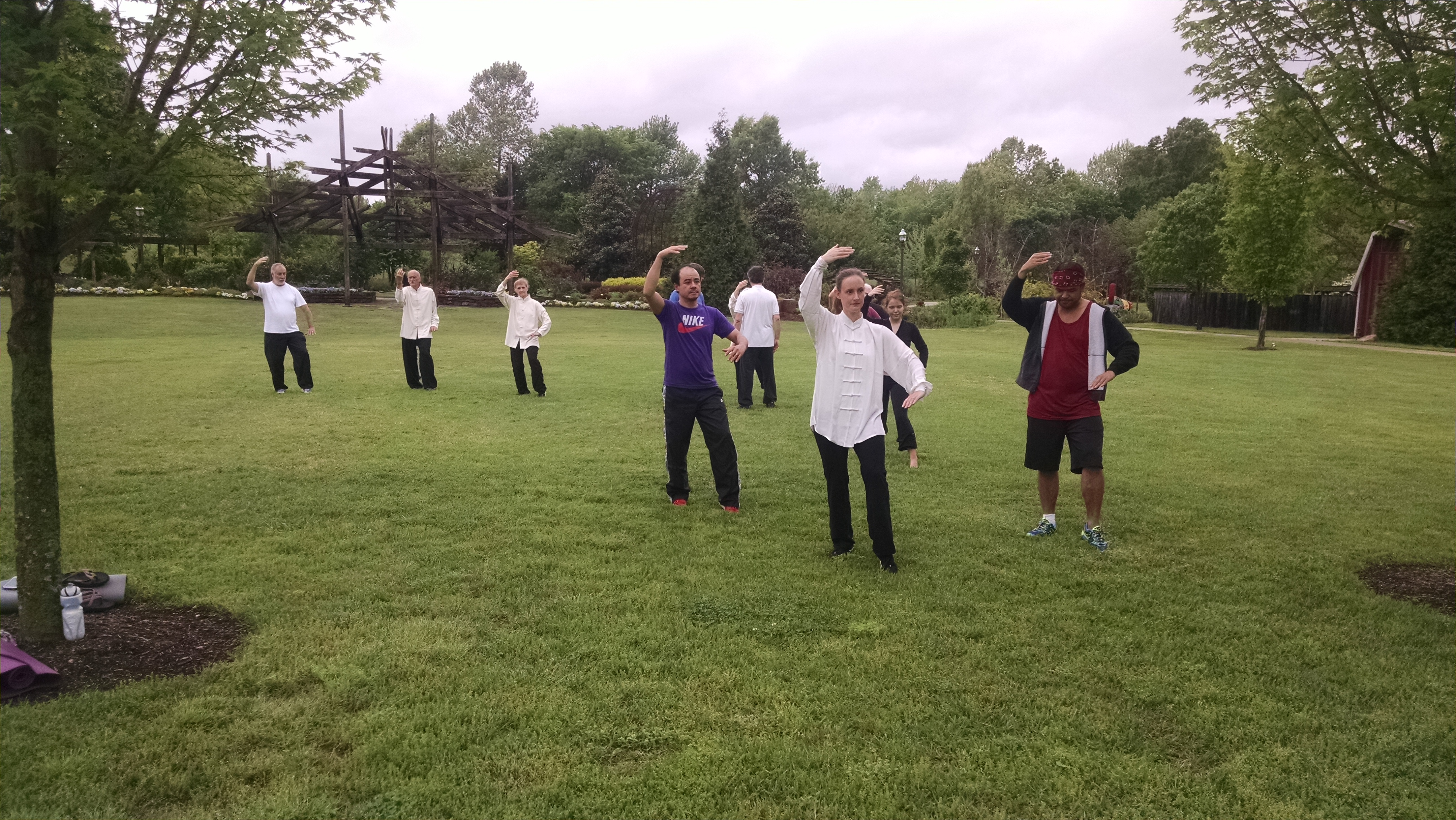 World Tai Chi Day Botanical Garden Of The Ozarks